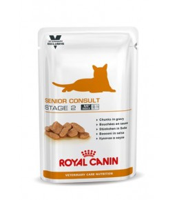 Royal Canin Senior Consult Stage 2 chat - Sachets fraîcheurs