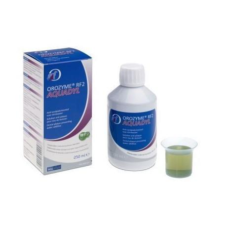 Orozyme RF2 Aquadyl - Bain de bouche pour chien et chat