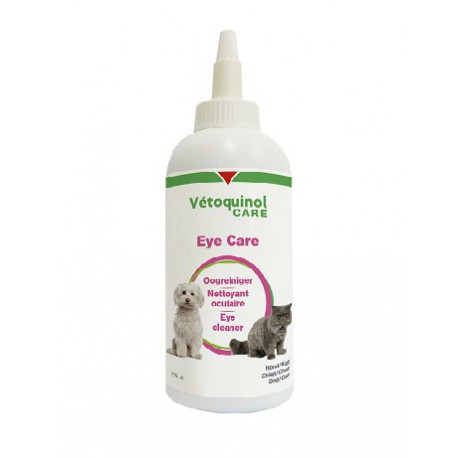 Vetoquinol Eye Care - Soin oculaire pour chat et chien