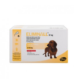 Eliminall - Spot On Chien 2-10 kg