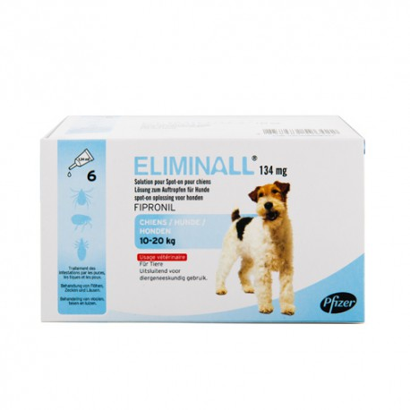 Eliminall - Spot On Chien 10-20 kg