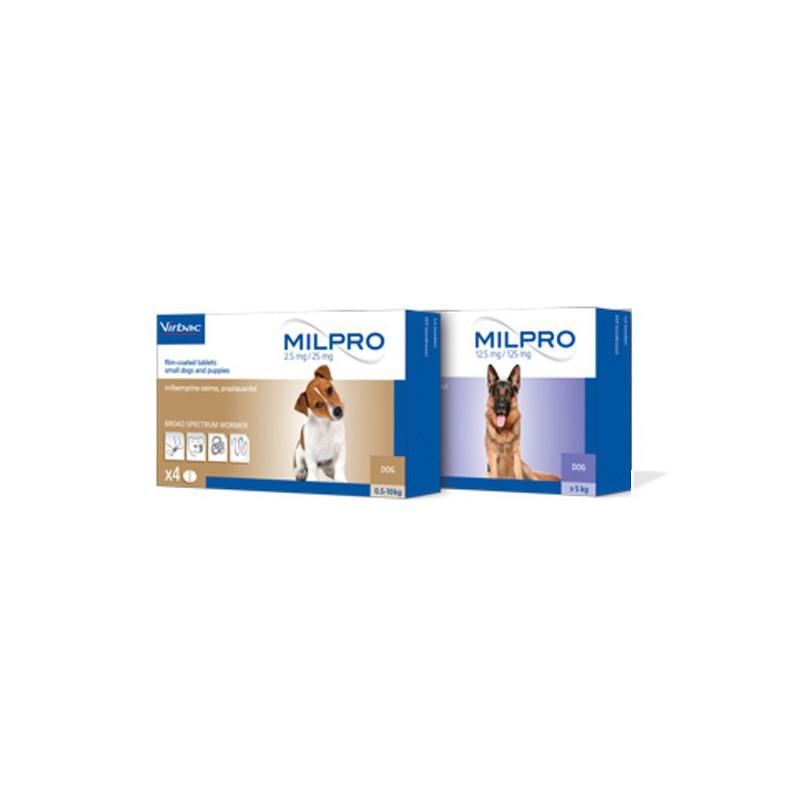 Milpro™ Chien - Vermifuges large spectre - Virbac / Direct-Vet