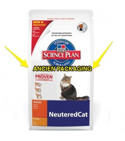 Science Plan Feline Young Adult Neutered Cat Poulet