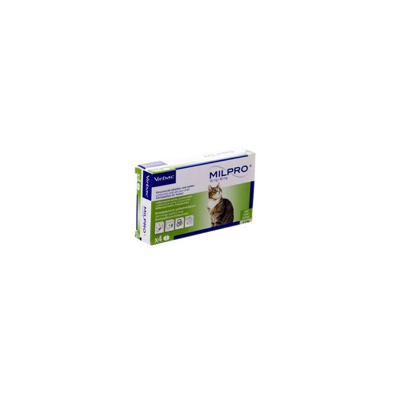 Milpro™ - Vermifuge pour chats - Virbac / Direct-Vet
