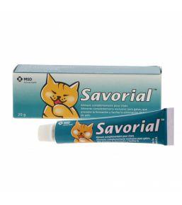 Supplément nutritionnel Savorial pour chat.