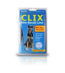 Clix - Longe de rappel pour chien  5 ou 10 mètres