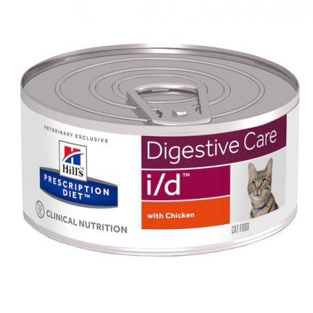 Hill's Prescription Diet i/d Feline émincé au poulet - Boîtes