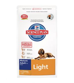 Hill's Science Plan Canine Mature Adult 7+ Light - Croquettes pour chien