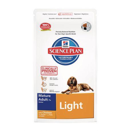 Hill's Science Plan Canine Mature Adult 7+ Light- Croquettes pour chien