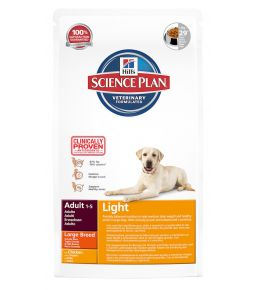 Hill's Science Plan Canine Adult Light Large Breed - Croquettes pour chien
