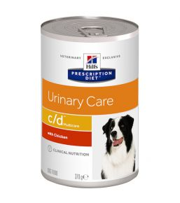 Hill's Prescription Diet C/D Canine (boîte) 12x370 g