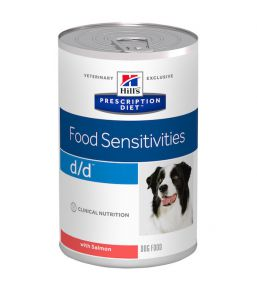 Hill's Prescription Diet D/D Canine Saumon - Boîtes