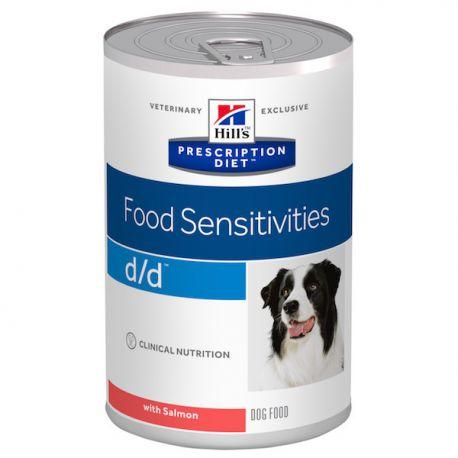 Hill's Prescription Diet D/D Canine Saumon - Boîtes