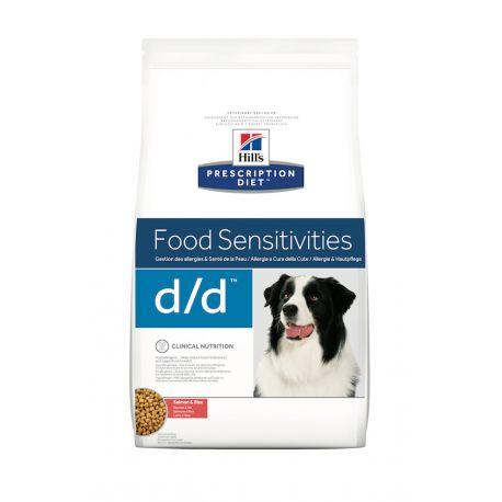 Hill's Prescription Diet D/D Canine Saumon et Riz - Croquettes