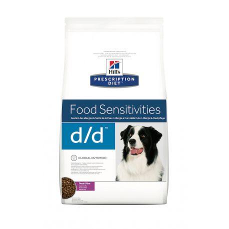 Hill's Prescription Diet D/D Canine Canard et Riz - Croquettes