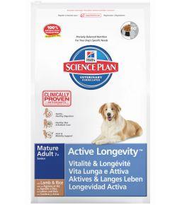 Hill's Science Plan Canine Mature Adult 7+ toutes races à l'Agneau et au Riz