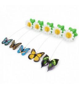 Jouet papillon volant pour chat
