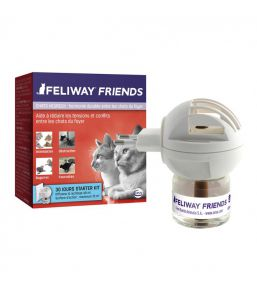 Feliway Friends diffuseur et recharges Ceva - Phéromones pour chat