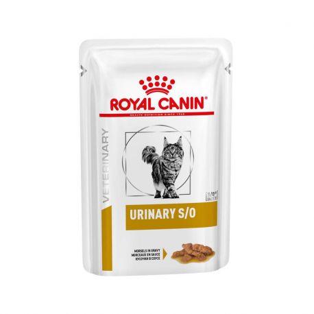 Royal Canin Urinary S/O chat - Sachets fraîcheurs bouchées en sauce