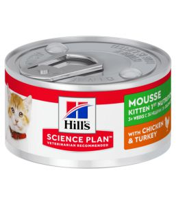 Hill's Science Plan mousse Chaton Kitten 1st nutrition (Boîte)
