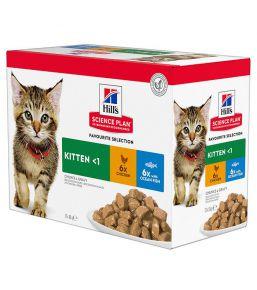 Hill's Science Plan Chaton Multipack Poulet et au Poisson
