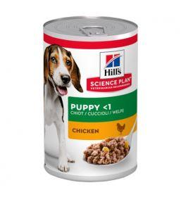 Science Plan Puppy au Poulet - Boîte de pâtée pour chiot 370 gr