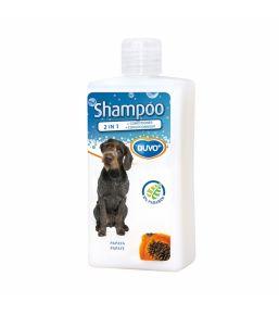 Duvo+ Shampooing pour chien 2 en 1 à la papaye