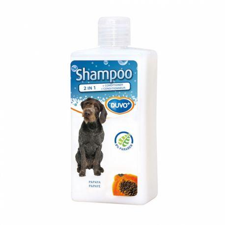 Duvo+ Shampooing 2 en 1 avec conditionneur à la papaye