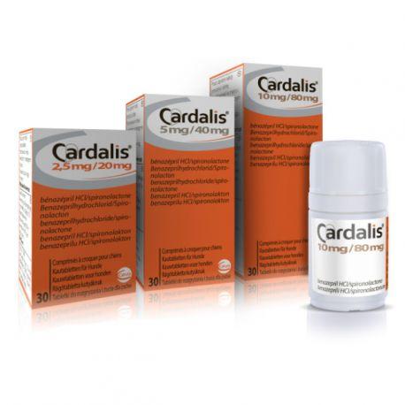 Cardalis 10 mg / 80 mg comprimés à croquer pour chien