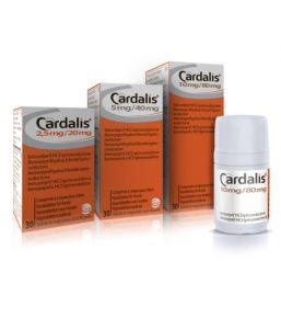 Cardalis 2,5 mg / 20 mg comprimés à croquer pour chien