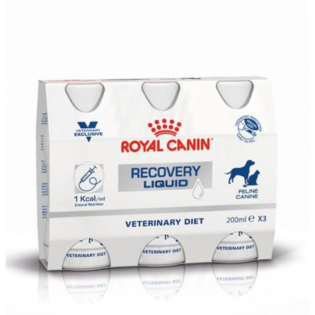 Royal Canin Recovery Liquid - aliment complet pour chat et chien