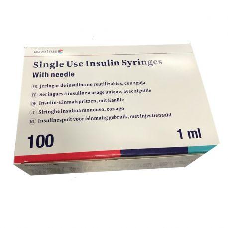 Seringues à insuline U40 CXL pour chiens et chats