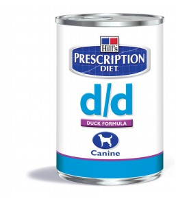 Hill's Prescription Diet D/D Canine Canard (boîte)