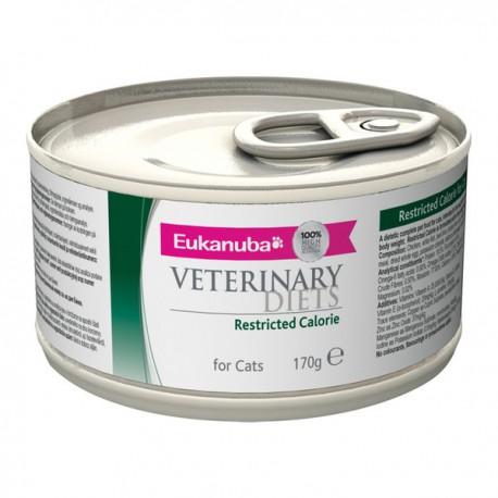 Eukanuba Veterinary Diets Restricted Calorie Cat Boîtes 12x170 g