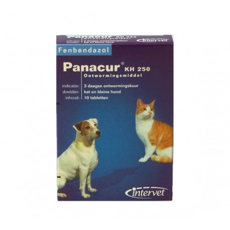 Panacur 250 - Comprimés pour chiens
